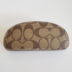 Coach Hardshell Clam Sunglasses Case EUC